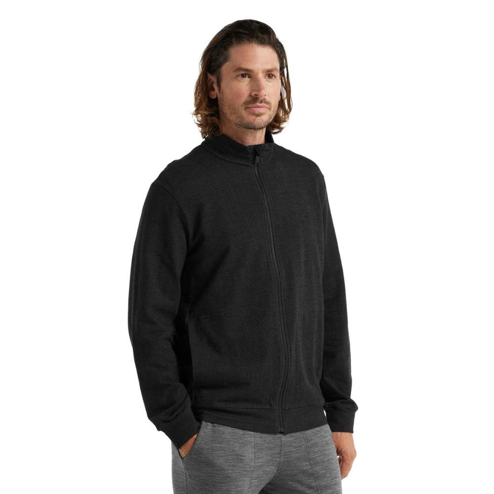 Men's Central Long Sleeve Zip