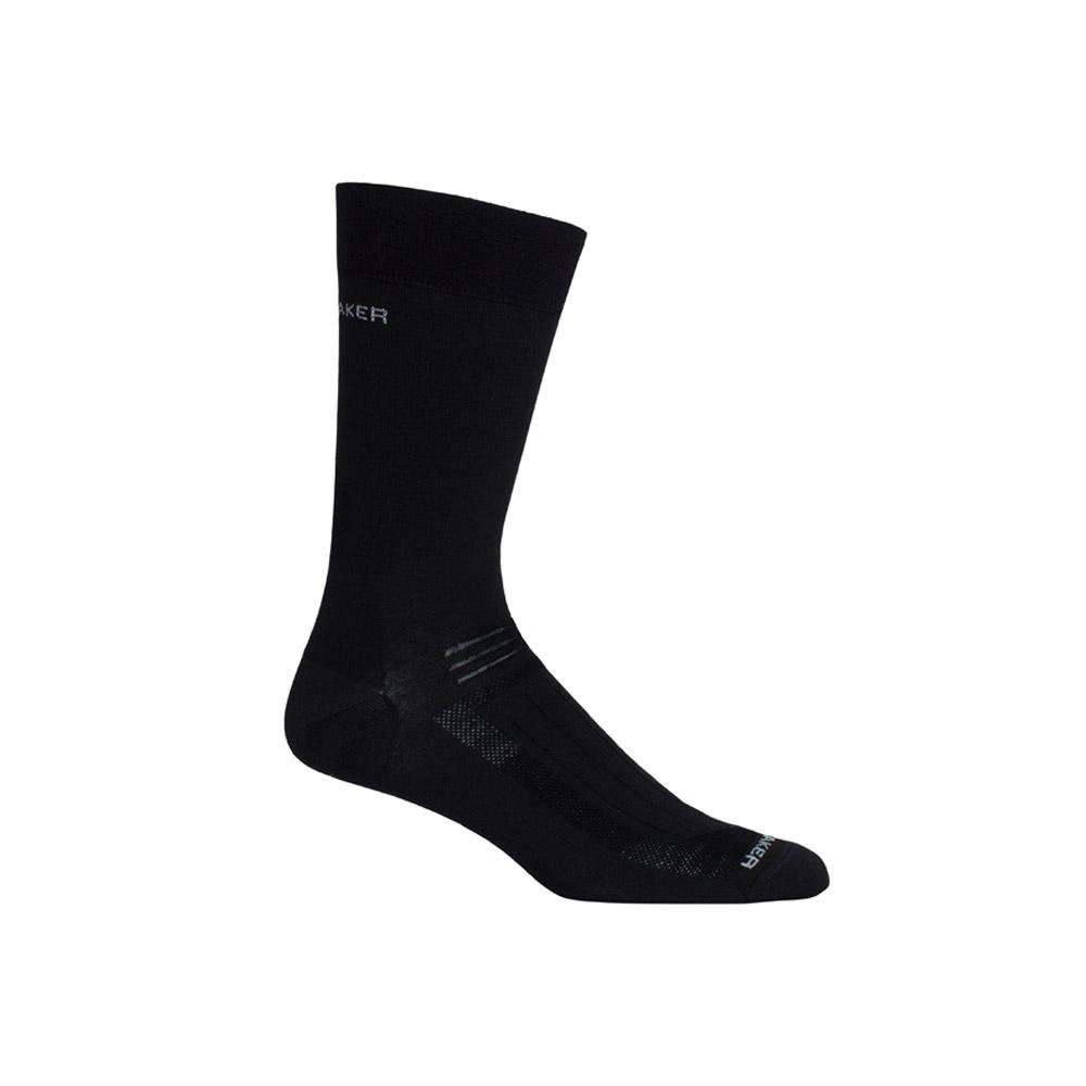 Merino Men's Hike Ultra Light Liner Crew Socks
