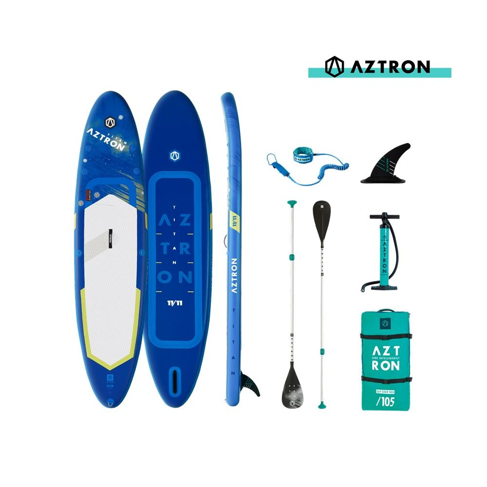 Titan 2.0 Inflatable Paddle Board Package 11'11