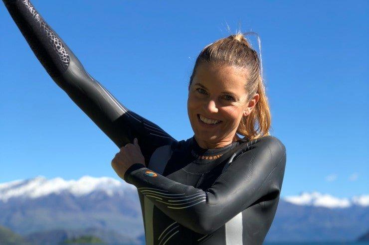 Cold water shutdown Kristy Jennings NZ Pro Triathlete Wanaka Racers Edge min - Cold water shutdown