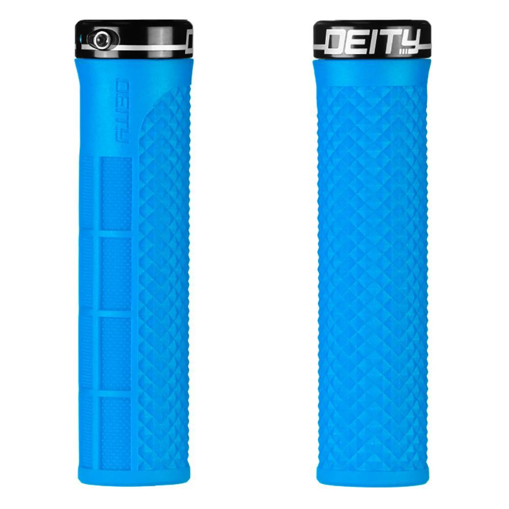 Lockjaw Lock-On Grips - Blue / Black