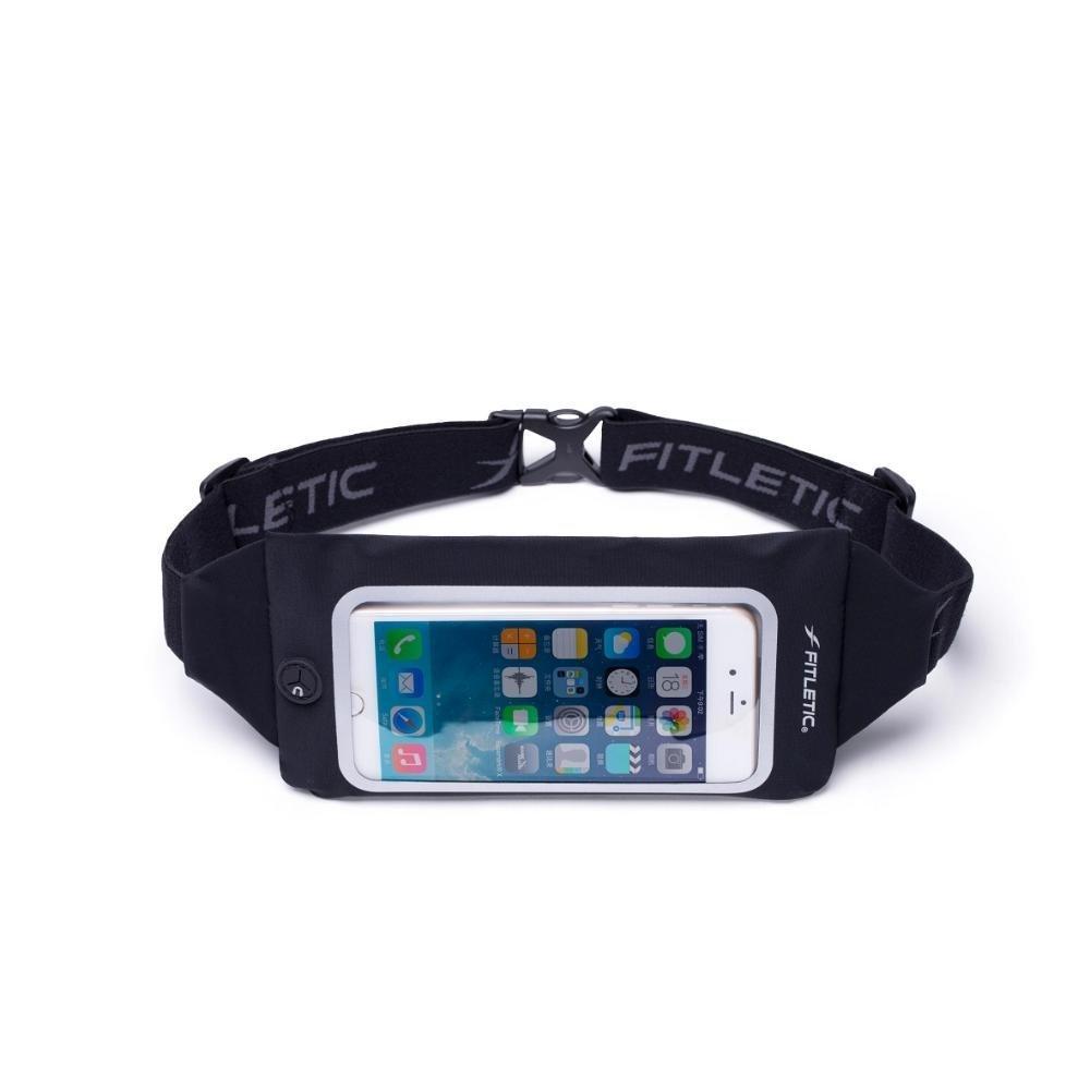 Swipe Running Belt with Clear Phone Window