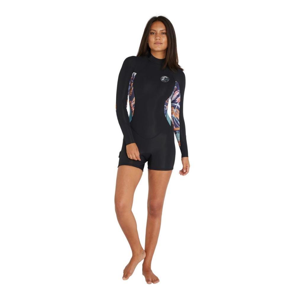 Women's Bahia Back Zip Long Sleeve Long 2mm Springsuit