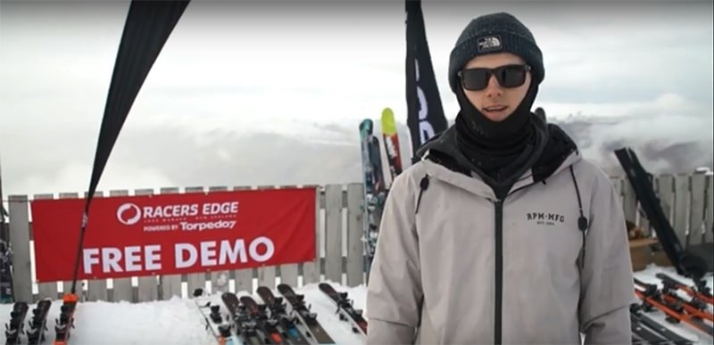 Racers Edge skiing demo days at Treble Cone and Cardrona-min