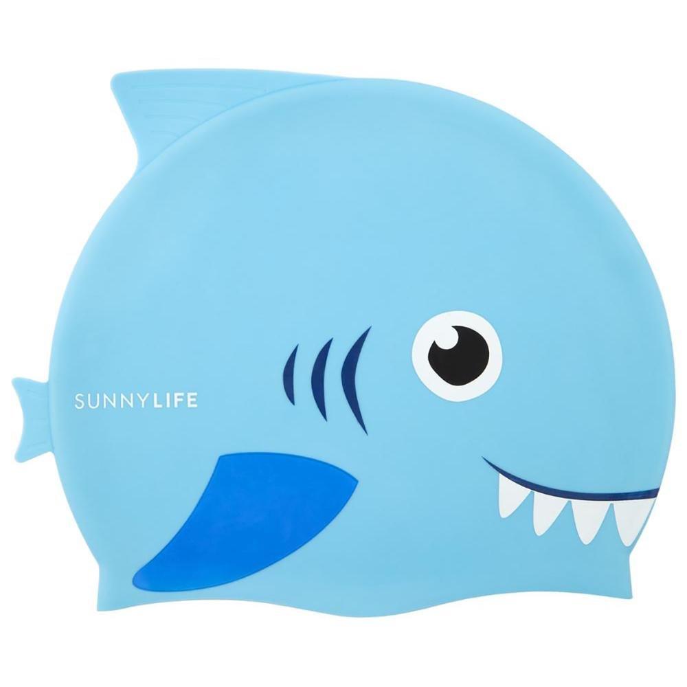 Kids Shark Swimming Cap