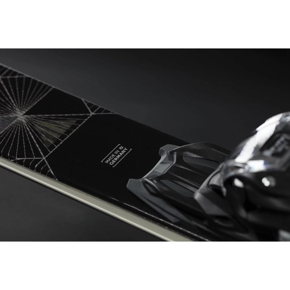 2022 Women's Flair SC Carbon Skis vMotion 11 Alu L GW Bindings